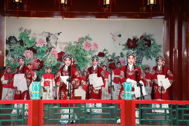北京天橋藝術中心 少兒京劇課程